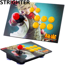 King of fighters Tekken joystick arcade 8 botões pc controlador de jogo de computador Joystick Consoles