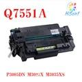 Compatível HP Q7551A cartucho de toner preto modelos ajudar para impressora HP 3005 / P3005D / P3005N / P3005DN / P305X M3027 / M3027 / M3035