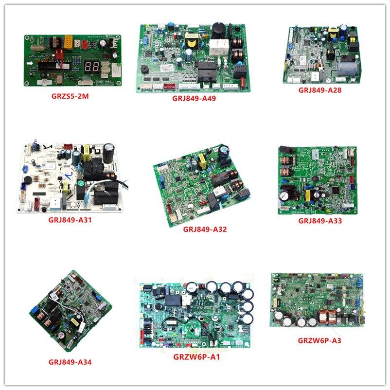 GRZS5-2M| GRJ849-A49/A28/A31/A33/34| GRZW6P-A1/A3/A6| GRJW823-A1/A3| GRJ824-A2/A3 Used Good Working