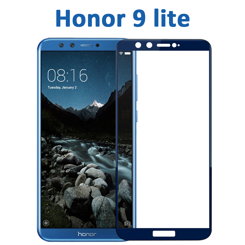 Image 2 - honor 9 lite protective glass on honor 9 lite for huawei honor 9lite 9 10 light honor9 screen protector safety tempered film 3D-in Phone Screen Protectors from Cellphones & Telecommunications