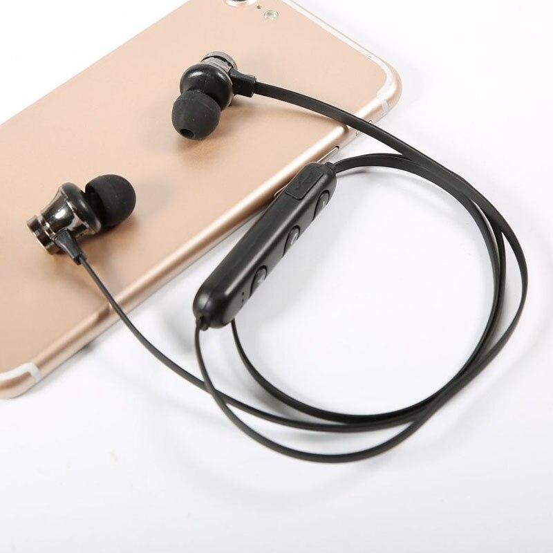 Etmakit Bluetooth Headphone Earphone Headset Magnetic Stereo For Mobile Phone MP3 Tablet NK-Shopping