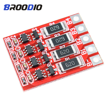 BMS 4S 12.8V 18650 LiFePO4 Lithium iron Battery Protection Board lto With balancer Equalization Function Board Charging Balance deligreen 4s 35a 12v bms for lithium ion battery pack lifepo4 18650 rechargeable battery with balance function