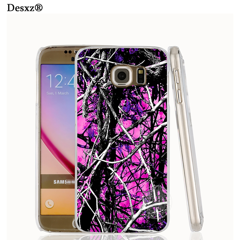 Desxz 17078 Camo Trees Purple Pink Fashion Cell Phone Case