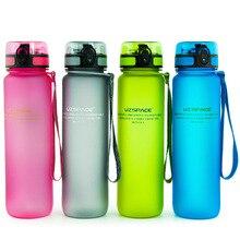 1000 ML BPA FREI Wasserflaschen Peeling Tragbare Raumschale Erwachsene Sport radfahren klettern reisen camping Wandern Shaker outdoor Flasche