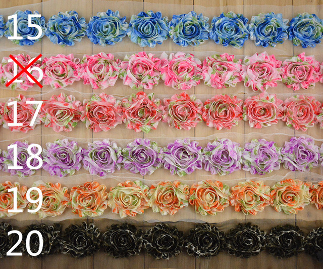 10 Yards Lot Shabby Rose Trim