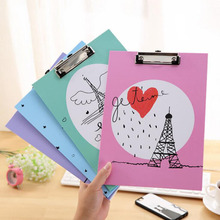 Hot Sale A4 Size Wooden Clipboard Clip Board Office School Stationery With Hanging Hole Office Document Holder Filing Clip Board hot sale sperm count board with red ruby