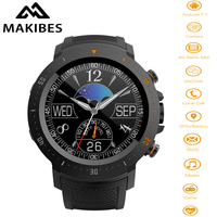 Makibes A4 WiFi 4G Nano SIM 1G RAM 16G ROM Smartwatch Phone Android 7.1 Call SMS Reminder 1.39 IP67 Heart Rate GPS Sport Watch