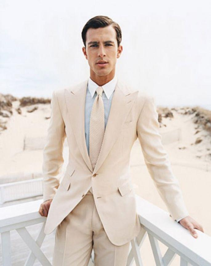 Online Get Cheap Wedding Suit Groom Beige Slim -Aliexpress.com ...