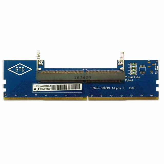 Thân thiện với môi trường Thử Nghiệm Laptop Thẻ Tiết Kiệm Năng Lượng Chuyển Đổi DDR4 Adapter Bộ Nhớ Máy Tính Để Bàn