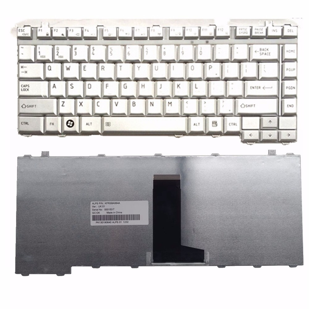 New RU Notebook Laptop Keyboard for Toshiba Satellite L200 L300 A200 A205 A210 A215 A300 M200 M205 M333 Silver Russian NSK-TAD0R