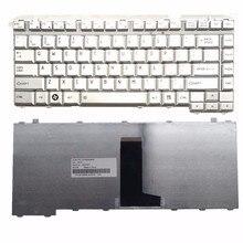 UNS FÜR TOSHIBA A200 A300 L200 L300 L310 M200 M300 L510 M500 Laptop-tastatur Silber Neue Englisch
