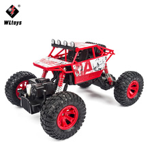 WLtoys 1:18 RC Car 4WD Extreme Crawler SUV 2.4GHz Remote Control Mini Off Road Car High Speed Rock Rover Toys