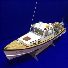 NIDALE Модель Масштаб 1/18 моделирование дистанционное управление креветки лодка модель наборы