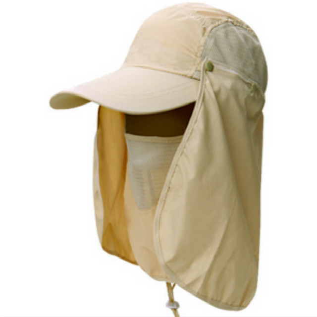 3deab9d2215 Which in shower Gardening Travel Hiking Face Neck Protector Hat Jungle  Mountain Climbing Quick Dry Bucket hat Polyester Sun Cap