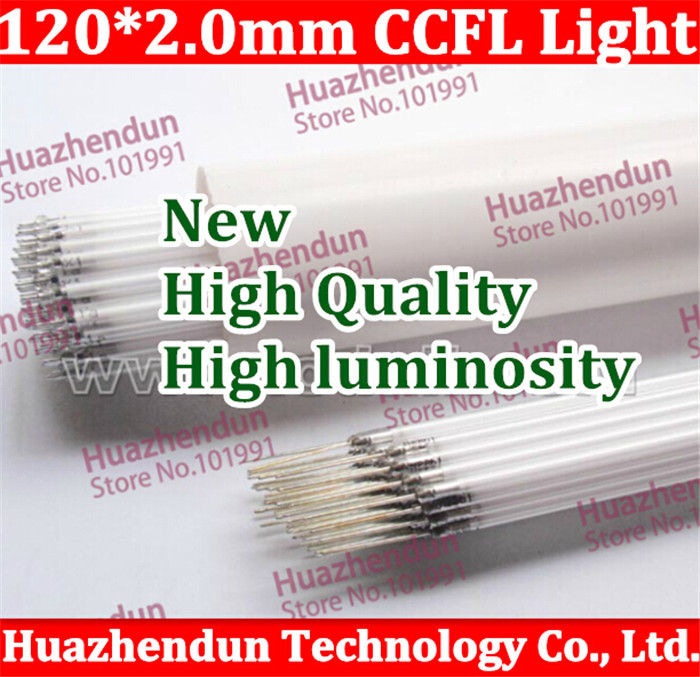 Free shipping Supper Light CCFL 120 mm * 2 mm LCD Backlight Lamp 10pcs/lot backlight lamp tube