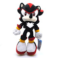 29cm Sonic The Hedgehog Plush Toy Black Shadow the Hedgehog Plush Toys Doll Soft Stuffed Toys Gift for Kids Children With Tag