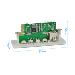 Image 5 - AIYIMA TPA3116 2.1 Bluetooth Amplifier Audio Board 50W*2+100W Subwoofer Amplifier Power Amp Support FM AUX TF Card USB Decoding