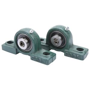 Image 2 - 2Pcs/Set OD 47mm ID 20mm UCP204 Ball Mounted Bearings Pillow Block Housing Bore Ball Bearing Shaft Support Spherical Roller Hot