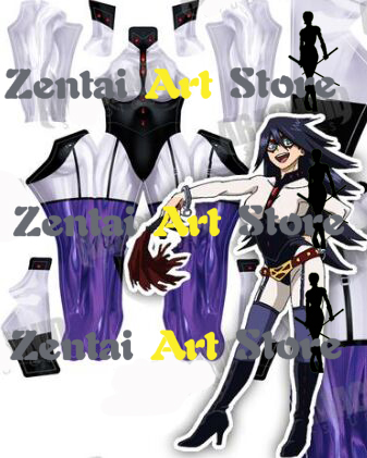 My Hero Academia Boku no Hero Akademia Midnight Nemuri Kayama Cosplay Costume 3D Print Halloween Suit Custom Made, Only Bodysuit