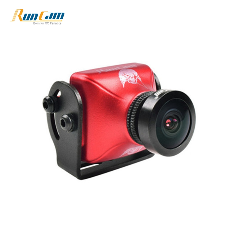 En Stock RunCam Aigle 2 800TVL CMOS 2.1mm/2.5mm 4:3/16:9 NTSC/PAL Commutable Super WDR FPV Camera Action Cam Bas latence