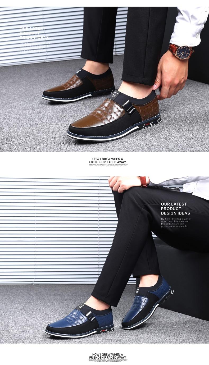 HTB17GGHa8r0gK0jSZFnq6zRRXXau ZUNYU New Big Size 38-48 Oxfords Leather Men Shoes Fashion Casual Slip On Formal Business Wedding Dress Shoes