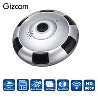 Wireless WiFi HD 960P 360 Degree Panoramic IP Camera Network Cam Night Vision Professional 1280 960