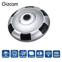 Wireless WiFi HD 960P 360 Degree Panoramic IP Camera Network Cam Night Vision Professional 1280 960