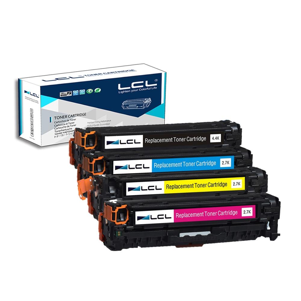 LCL 312X 312A CF380X CF380A CF381A CF382A CF383A (4-Pack) Toner Cartridge Compatible for HP Color LaserJet Pro M476dn MFP 4x cf380a cf381a cf382a cf383a 312a compatible color toner cartridge for hp laserjet pro mfp m476dw m476nw cf387a cf385a printer