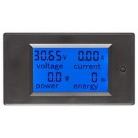 Multimeter Amperemeter Voltmeter DC 6 5 100 V 0 20A LCD Display Digital Strom Spannung Power Energy Meter-in Energiezähler aus Werkzeug bei