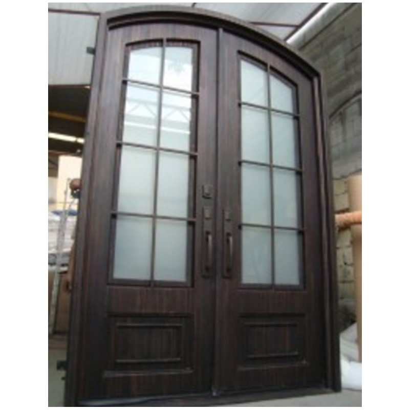 Hench Glass Steel Iron Doors