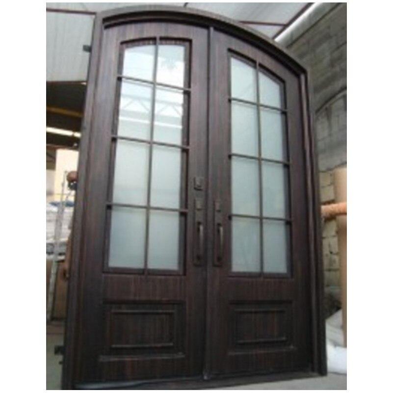 Hench Glass Steel Iron Doors