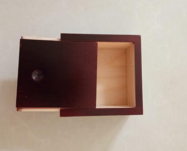 Storage Box Square Wood Box Jewelry Box Wedding Gift Makeup Cosmetic Earrings Ring Desk Rangement Make Up Wooden Organizer