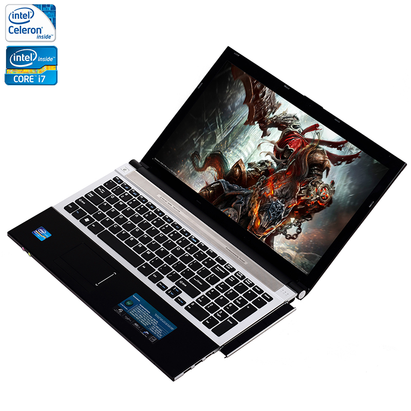 ZEUSLAP 15 6inch Intel Core i7 or Celeron 8GB RAM 500GB HDD Windows 7 10 System