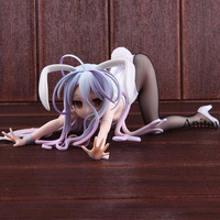 Freeing No Game No Life Shiro Figure Bunny Ver. 1/4 Scale PVC Action Figure Collectible Model Toy