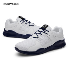 RGKWXYER New Big Size 48 Shoes Men Sneakers Lightweight Breathable Man Casual Spring Summer Fashion Lace-Up Work