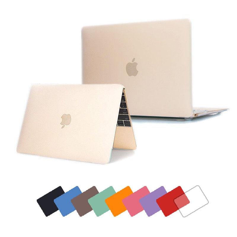 NEW Multi colors Matte Case For Apple macbook Air Pro Retina 11 12 ...