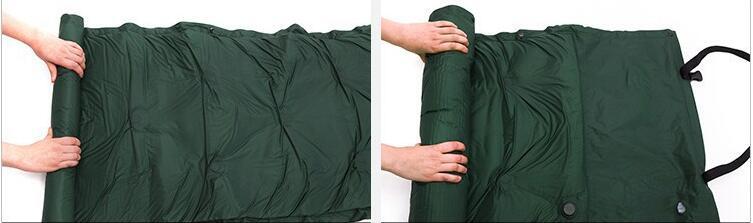 dormir mat pad à prova d' água com travesseiro