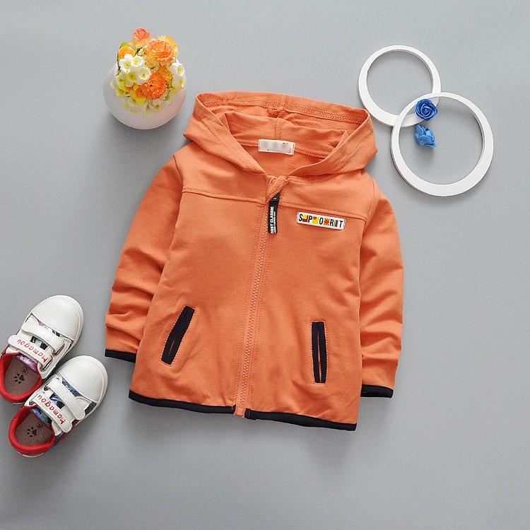 2018 spring children hoodies Baby Kids Boys Girls Toddlers thin zipper Cartoon Tracksuit Children Clothing Set Cute Sweatshirts