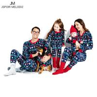 Family Christmas Pajamas Cotton Family Matching Clothes Mother Daughter Clothes Father Son Outfits Clothes Family Look