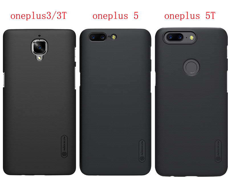 US $6 11 15% OFF Oneplus 6 case NILLKIN Super Frosted Shield hard back  cover case for oneplus 6T 6 5 5T 3 with Retail package-in Half-wrapped  Cases