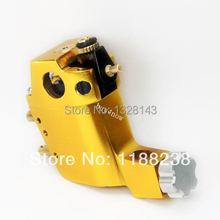 Professional Long lasting Stigma Hyper Rotary Tattoo Machine for Manual Liner Shader and Coloring Yellow