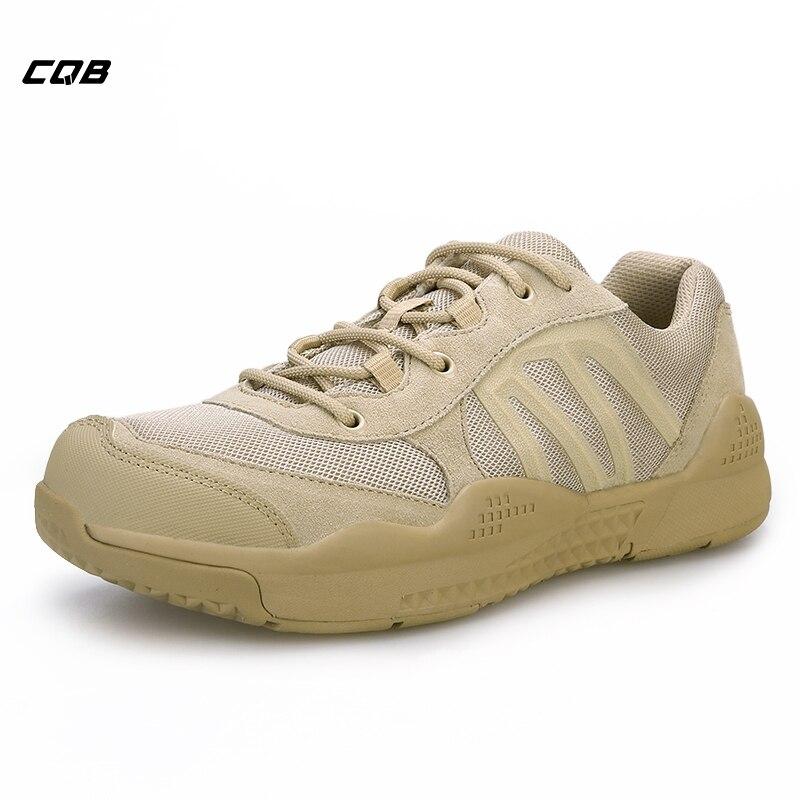 CQB Sports de plein air tactique militaire Trekking chaussures pour hommes léger résistant à l'usure montagnes chaussures pour la marche randonnée escalade