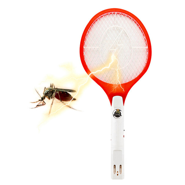 1pc Rechargeable Electric Insect Bug Bat Wasp Mosquito Zapper Swatter Racket anti mosquito killer Electric Mosquito Swatter