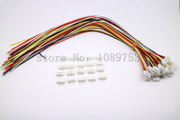 100 SETS Mini Micro JST 2 0 PH 4 Pin Connector Plug With Wires Cables 100MM