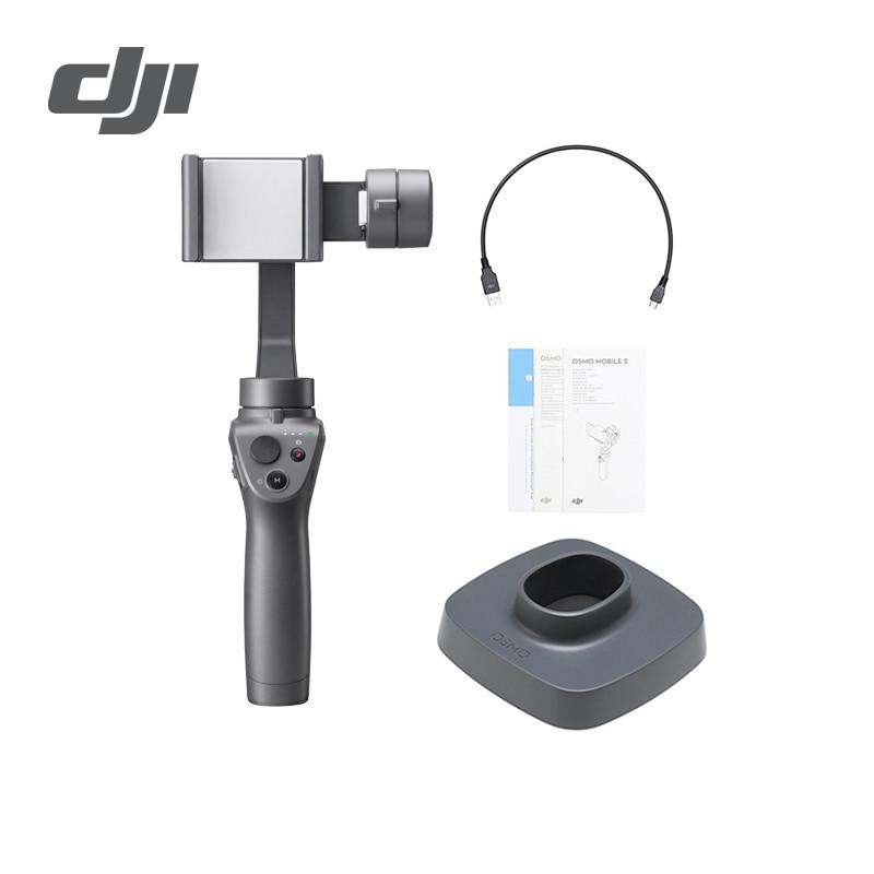 DJI Osmo móvil 2 3 eje estabilizador de mano para Smartphone 3 eje Gimbal Handheld Stent Zoom Panorama