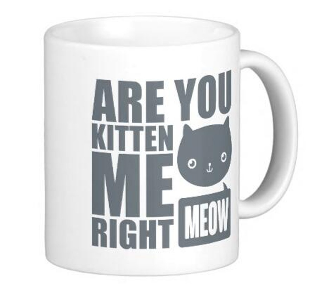 Cool Fun Text Design With Words Saying Are You Kitten Me
