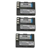 3 pz 7.4 v 1.8ah en-el3e en el3e enel3e batteria video/fotocamera ricaricabile per nikon d90 d700 d300 d200 d300s d80 d70 d50 d100 d70s
