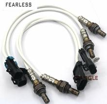 4pcs Oxygen O2 Sensor 1 & 2 For Chevrolet C/K1500 2500 Suburban 5.7L 7.4L 96-99