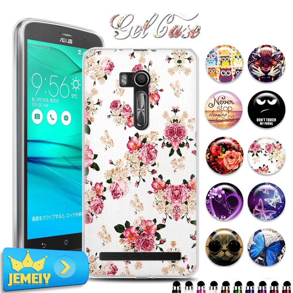 TPU Soft Case Gel Cover For Asus Zenfone Go ZB551KL 55
