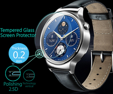 Ultra Thin 0.2mm 2.5D Premium Tempered Glass Screen Protector For Huawei Watch Smart Watch  HD Toughened Protective Film